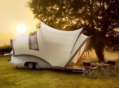 Fancy camper
