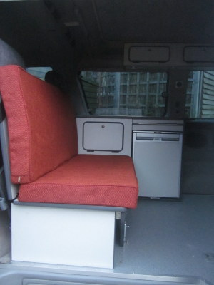 Mazda Bongo side conversion