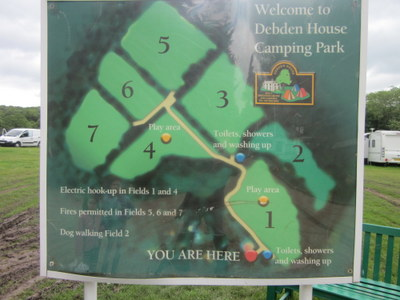 Debden House Map