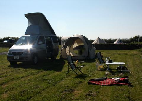 Bongo and quechua base tent