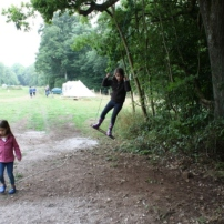 More ropeswing fun!