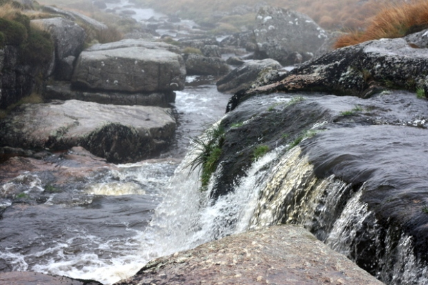 East dart waterfall, Postbridge